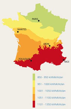 Chauffage solaire thermique - Energie solaire en france ...